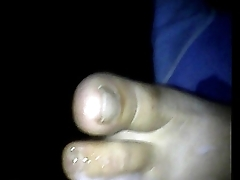 footjob lethargic wife soles 44