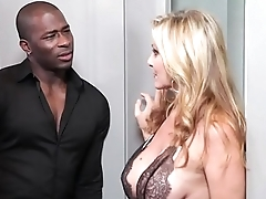 Blonde fuck with hyacinthine big bushwa unchanging