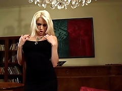 Stacy fucked in thigh high stockings and heels