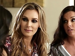 Trinity St. Clair, Kobe Lee and Tanya Tate at Mommy'_s Girl