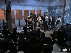 Fighting beauties get punished and ass fucked