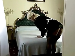 Teresa Visconti - Italian mature maid fucked