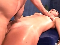 Ill-lit Kristina Rose Massaged Together with Fucked