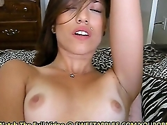 Teen Toys Pussy For Her Boyfriend