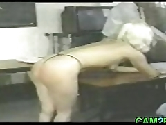 Blonde Teen gets Punished Class