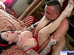 Sex Tape With Naughty Big Juggs Horny Wife (darling danika) video-14