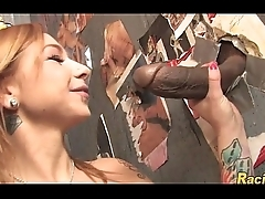 glory hole adventure with Scarlett Ache