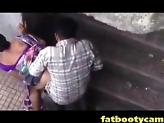 Silent Cam of Indian Couple Fucking Outside - fatbootycams.com