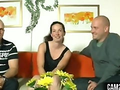 Teen Shy Brunette German Teen Threesome Free Porn