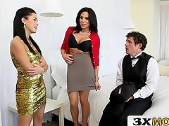 MILF Seduces Young Couple Into a Naughty 3Some - Jaclyn Taylor, Megan Rain