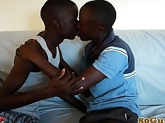 African amateur cocksucking big black cock