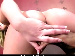 Huge black cock takes little white ass 28