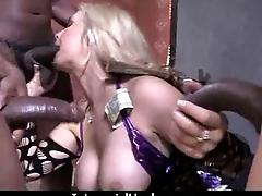 Huge Negroid cock takes thumbnail white pain in the neck 12