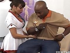 Large Boobs Ava Devine Fucked by Elephantine Black Dick