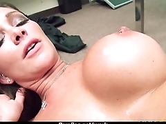 MOM Working MILF fucks the brush client 2