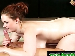 Nuru Massage Sex Video on every side Hot Nasty Masseuse 13