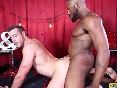 Alexs eager hole getting drilled by Noah