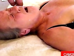Granny Facial Free Amateur Porn Video