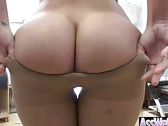 Oiled All Up And Flourish A Sexy Big Buttt Curvy Girl (london keyes) video-24