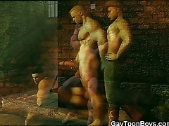 3D Gay Boys Fantasies!