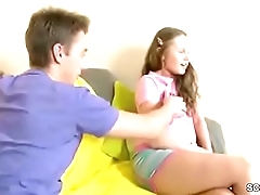 Brother Touch Step-sister and Fuck her Anal in Tight Ass