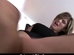 The Gigantic Black Cock fits right in her tight white pussy 27