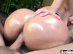 Anal Coition With Curvy Fat Oiled Up Rear end Girl (alena croft) movie-02