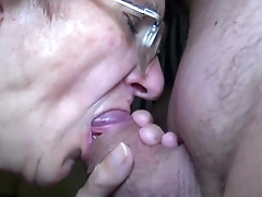 OldNanny Mom and Teen masturbating and sucking dick day