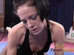 Foot smothering with Mistress Aliz