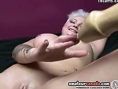 Geeky punk porn girl uses big sexual connection toy insertions with girl